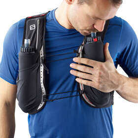 Salomon S/Lab Sense Ultra 8 Bag Set Black/Racing Red